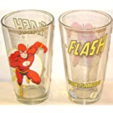 The Flash 'Toon Tumbler Pint Glass
