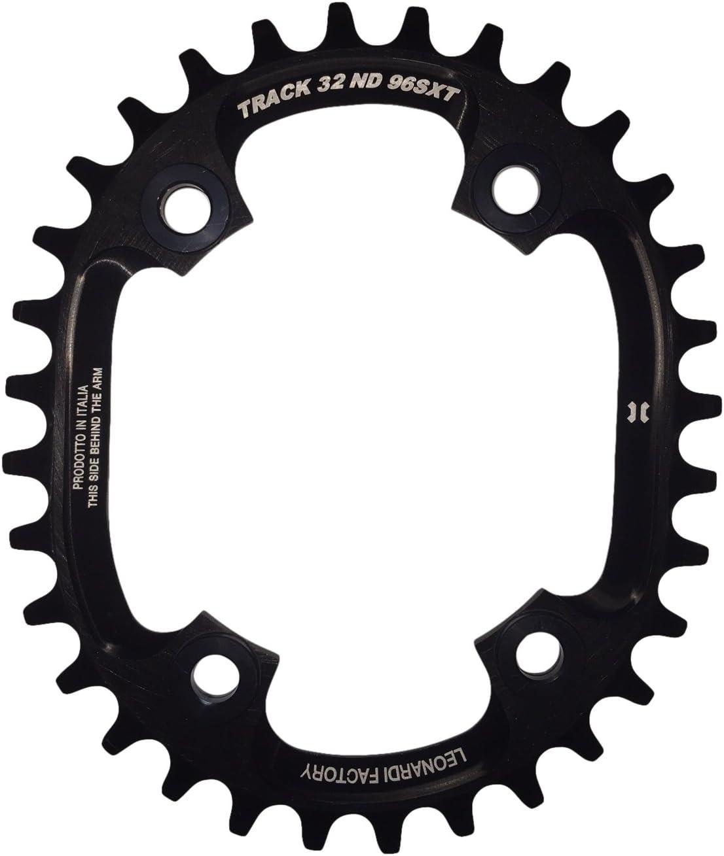 Leonardi Factory Oval Track Bcd 96 XT Plato de Bicicleta, Hombre ...