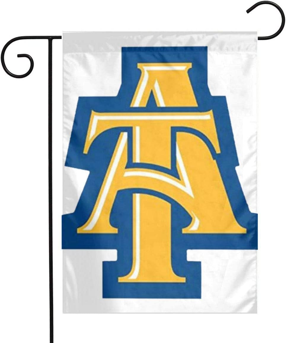 COURTNEYJOHNSON NC North Carolina A&T State University Aggies Garden Flag Outdoor Flag 1218
