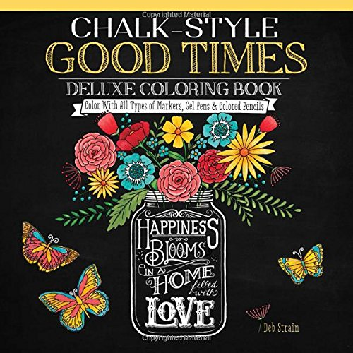 Chalk Style Good Times Deluxe Coloring product image