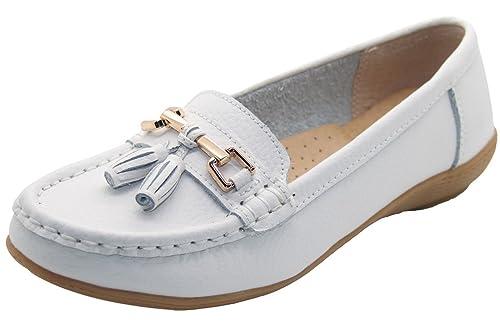 Mocasines planos Jo & Joe, zapatos de tacón bajo informales, có