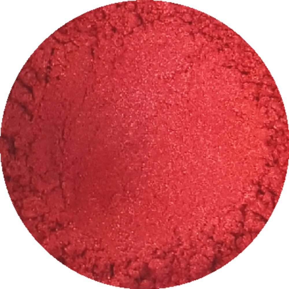 Fiery Red Cosmetic Mica Powder 3g-50g for Soap, Eyeshadow, Bathbombs (3g) TheSoapery