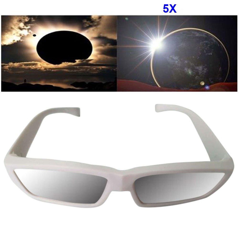 Sonnenfinsternisbrillen ISO CE Zertifiziertes Sonnenglas aus der Beobachtung von Eklipsen lzn 1//3//5//10 Stk Sonnensichtbrille