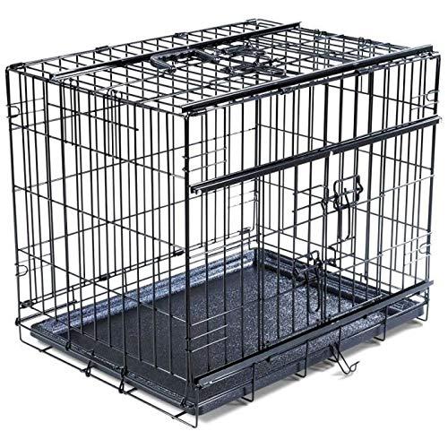 VADIGRAN Cage métallique pliable Classic - 76 x 48 x 55 cm - Argent - Pour chien: Amazon.es: Productos para mascotas