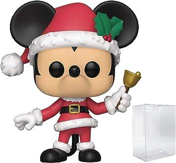 Figura de vinilo de Disney: Holidays – Holiday Mickey Mouse Funko Pop (incluye funda protectora de caja emergente): Amazon.es: Juguetes y juegos