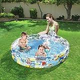 XiYunHan Inflatable swimming pool Circular Paddling pool baby bathtub Sand pool Ball Pool child color 2-3 people