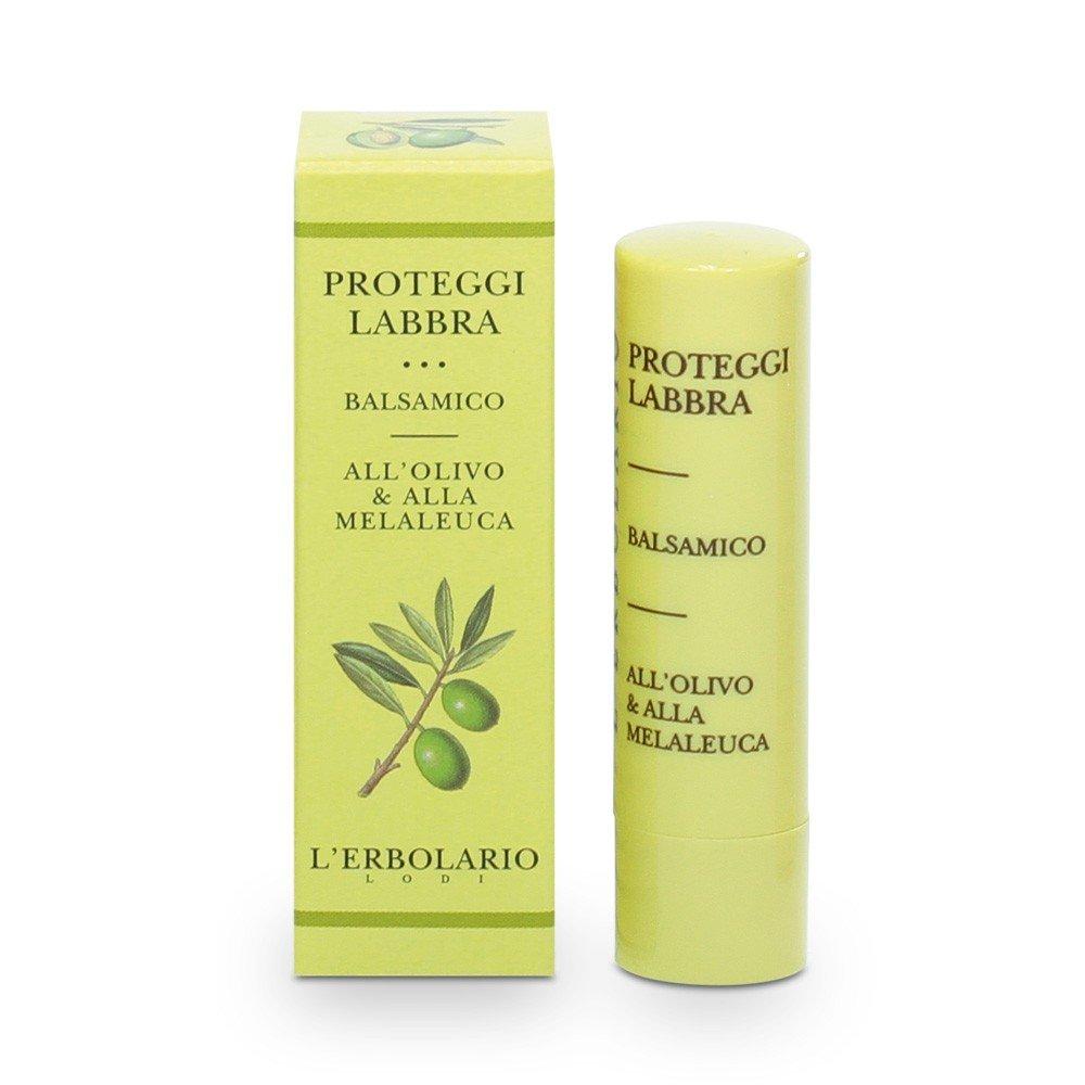 Proteggi Labbra Balsamico (Protective Lip Stick Balm) with Olive Oil and Melaleuca by L'Erbolario Lodi
