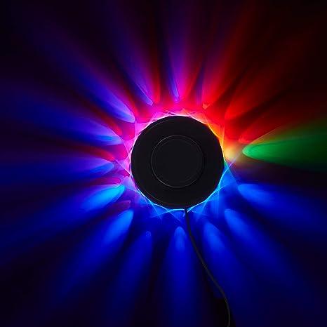 Briloner Leuchten Lichtrad, Partylicht Musiksensor