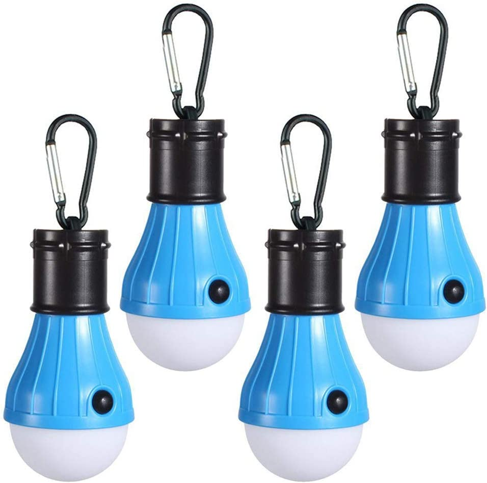 Details about  /2Pack LED Portable Camping Tent Lamp Emergency Hiking Outdoor Light Lantern Bulb