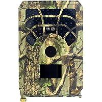 IR Hunting Trail Camera IP56 Waterproof Hunting Camera Night Vision 46Pcs 940nm Black Lights 120 Degree Lens 12MP…