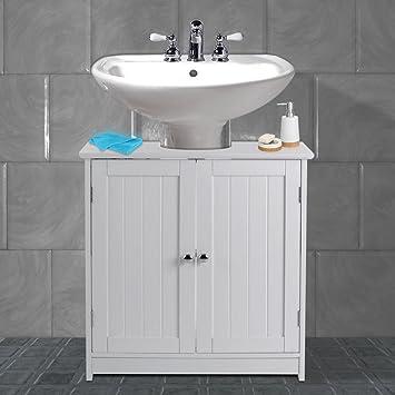 Marvelous Avc Designs White Bathroom Under Sink Cabinet Basin Unit Cupboard Quality Storage Furniture Home Interior And Landscaping Eliaenasavecom