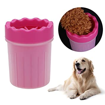 Amazon Com Domybest Pet Foot Washer Cup Dog Foot Wash Tool Soft