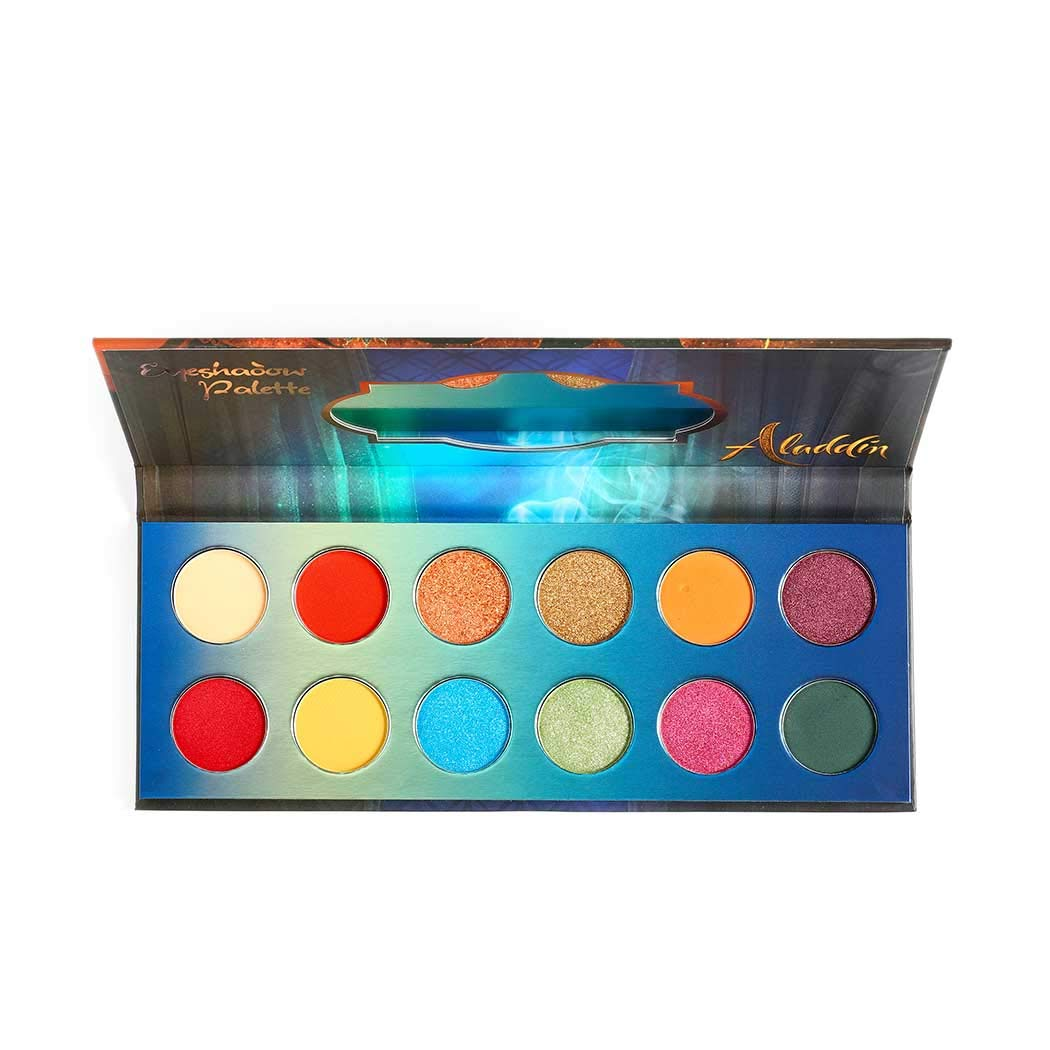 Eyret Highly Pigmented Colorful Eyeshadow Palette 12 Colors Vivid Long Lasting Eyeshadow Pallte Stage Makeup Palette Professional Make up Cosmetics for Women and Girls (Red 2#)
