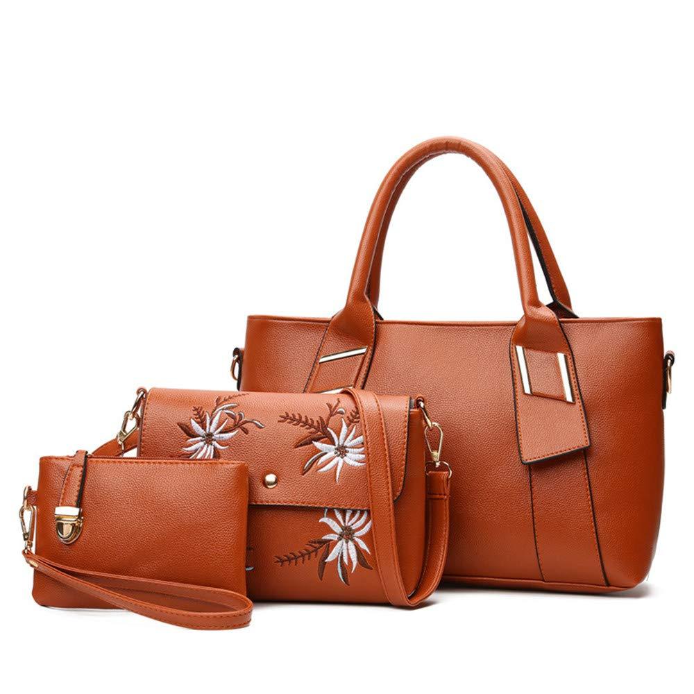 Sconosciuto Set di 3 borsette da Donna in Pelle Sintetica +
