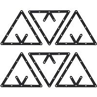 Estante de Billar, 6 Unids/Set Triángulo Estante
