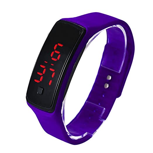 UltraZhyyne(TM) Relojes hombre mujer Ultra Thin LED Sport Watches Silicone Digital wristwatch Fashion