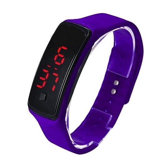 UltraZhyyne(TM) Relojes hombre mujer Ultra Thin LED Sport Watches Silicone Digital wristwatch Fashion