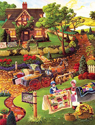 Mary's Quilt Country 300 Piece Jigsaw Puzzle by SunsOut