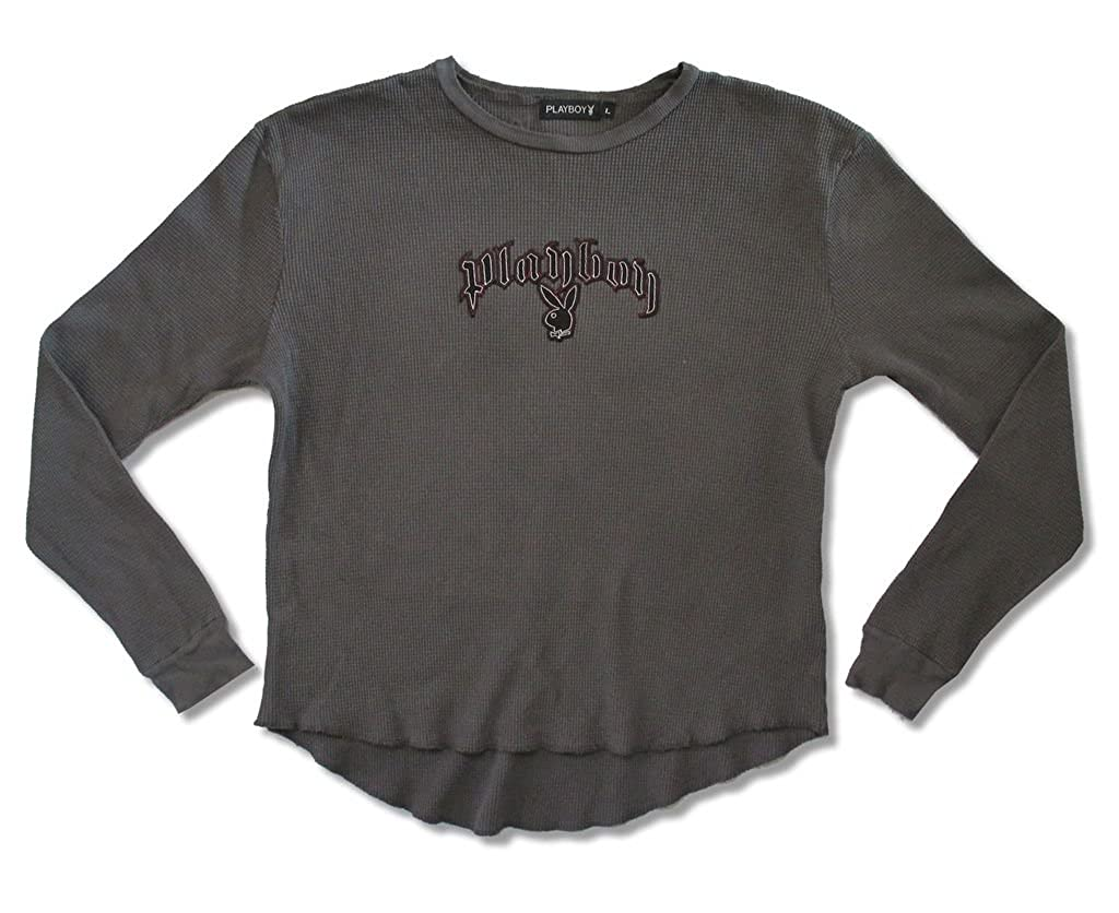 Playboy Spitfire long sleeve thermal adult shirt