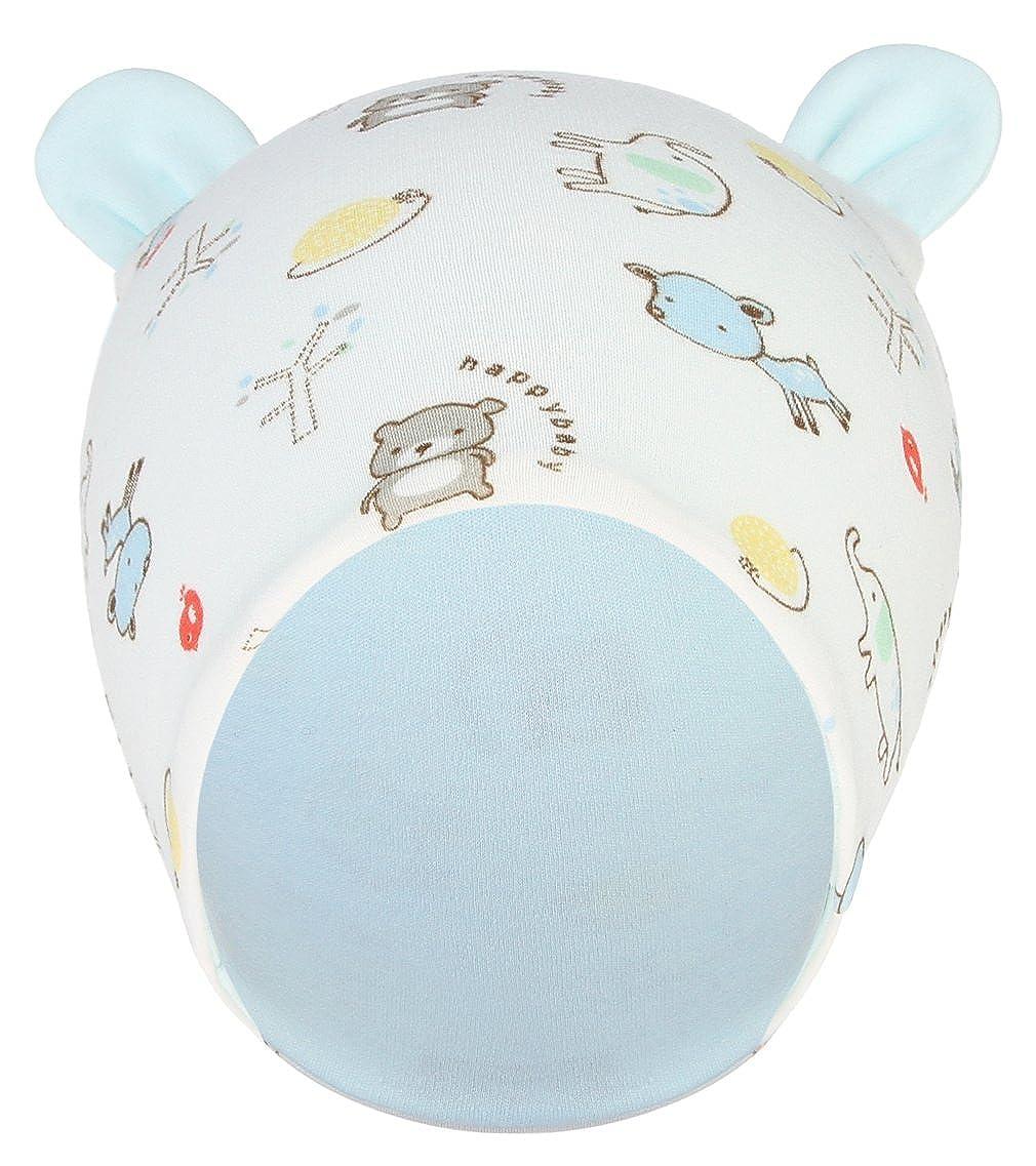 Jelord Infant Baby Newborn Cotton Soft Hat Cute Hat Beanies Cap