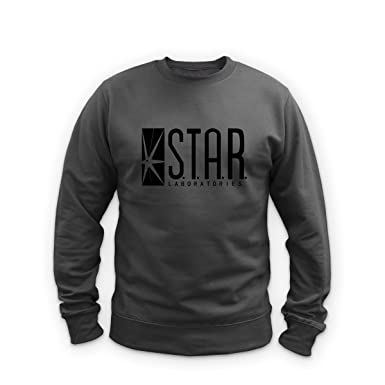 114dd9f878d Illegal Art Boutique Star Laboratories - Sweat-Shirt - Gris - Small ...