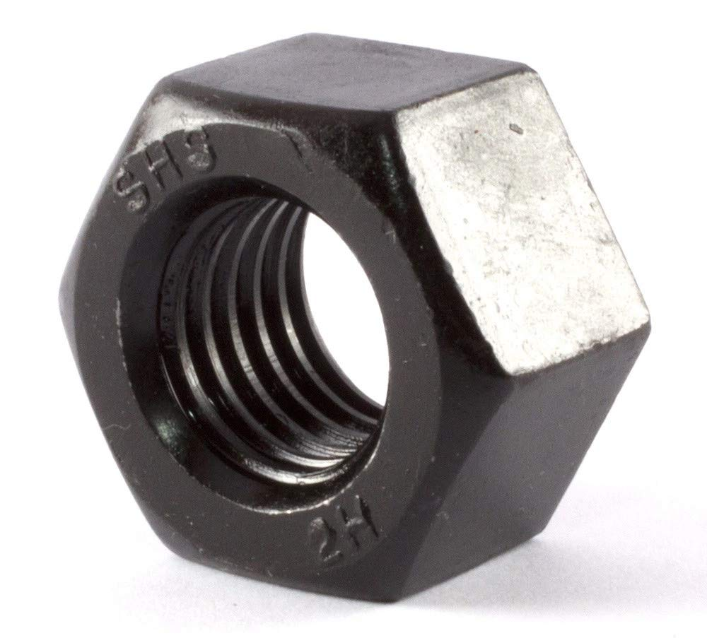 5//8-11 Thread Size Grade 2H Extreme-Strength Steel Extra-Wide Hex Nut