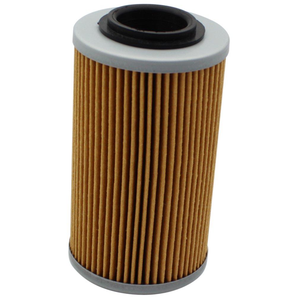 Cyleto Filtro de aceite para CAN-AM SPYDER RT SM5 2010 2011 2012 2013//SPYDER RT SE5 SM5 A C 2010 2011 2012//SPYDER RT-SSE5 SM5 2012 2013