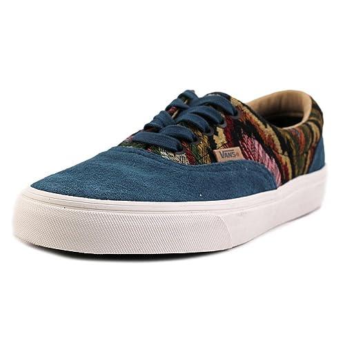 0d7c0695a4cf23 Vans Unisex Era California Skate Shoes-Italian Weave Atlantic Deep -14.5-Women 13-Men  Amazon.ca  Shoes   Handbags