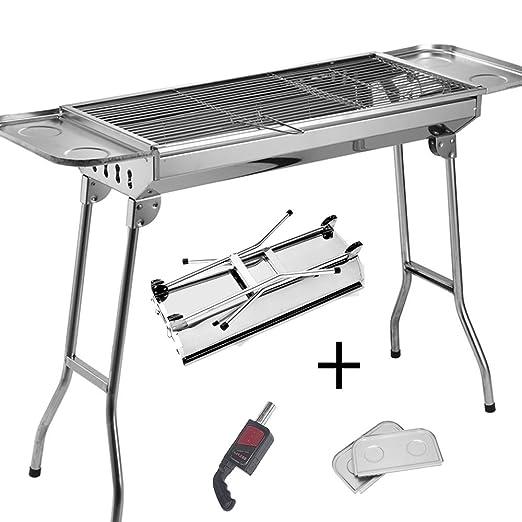 25 opinioni per SunJas barbecue a carbonella Picnic Set Ink. Ventilatore per barbecue Pinza