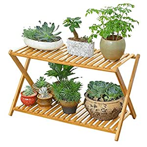 Balcony flower rack / living room solid wood floor multi-storey flower shelf / indoor flower pot rack