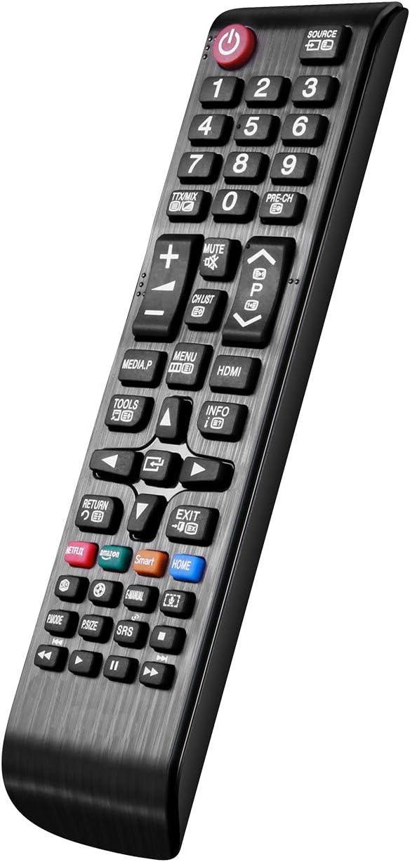 Nuevo Reemplazo con Control Remoto de TV BN59-01247A BN59-01175N Ajuste para Smart TV Samsung: Configuración TV Control Remoto Universal ...