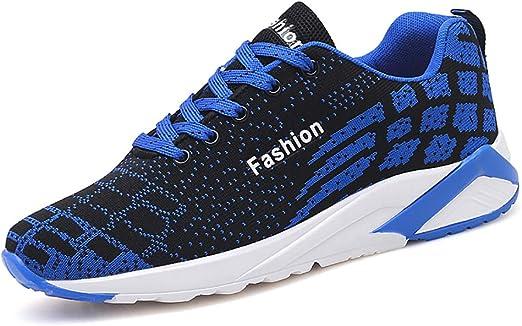 LXJL Zapatillas Deportivas para Hombre Multi-Sport Running Fitness ...