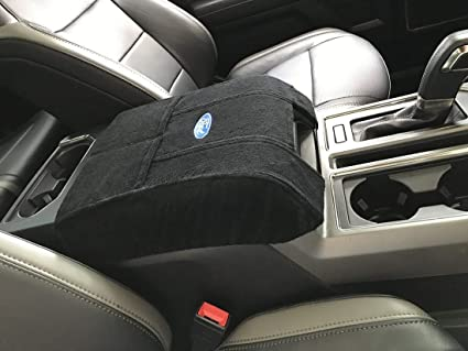 Fits Ford F150 F250 Truck Bucket Seat Models 2004 2018 Officially Licensed Ford Embroidered Truck Armrest Cover For Center Console Lid Your Console