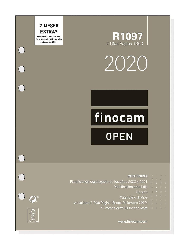 Amazon.com : Finocam - Annual Refill 2020 2 Days Open Page ...