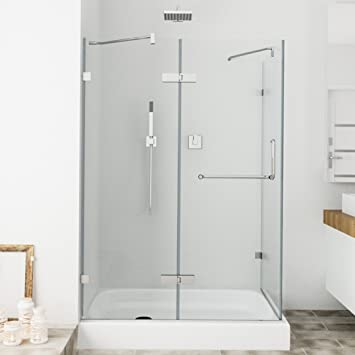 Vigo monteray 32 x 48 in frameless shower enclosure with 375 in vigo monteray 32 x 48 in frameless shower enclosure with 375 in planetlyrics Gallery