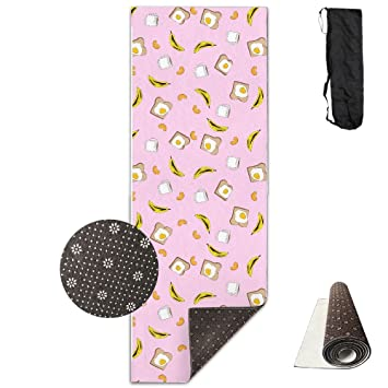 Unisex Fitness Yoga Mat January Desktop Calendar Unique Non-Slip Pattern Towels,Pilates Sports