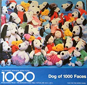Amazon.com: Dog of 1000 Faces | 1000 Piece Puzzle by