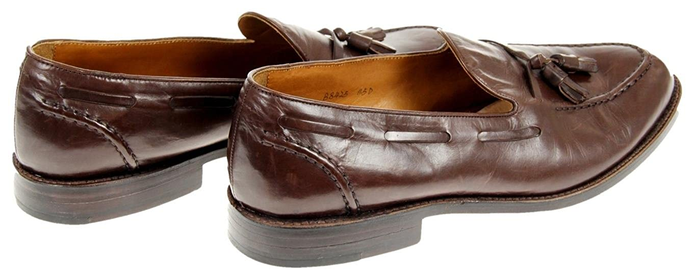 J.Crew Mens Ludlow Tassel Loafers Size 11.5 Style B8425 Brown New