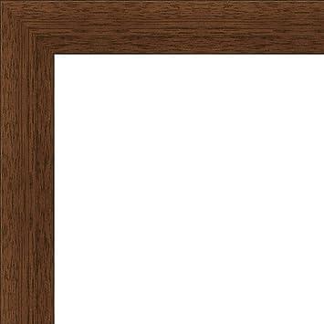 Amazon.com: 9x12 Flat Dark Brown Wood Frame - \