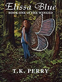 Elissa Blue: Book One Of The Winged by T.K. Perry ebook deal