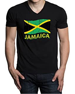 Jamaican Born in The USA Adult Mens Casual T-Shirts and Baseball Jean Headgear