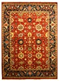 EORC SHT19RT Hand Knotted Wool Super Mahal Rug, 12 by 15-Feet Review