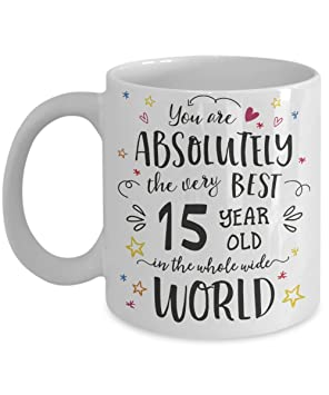 15th Birthday Gift Mug