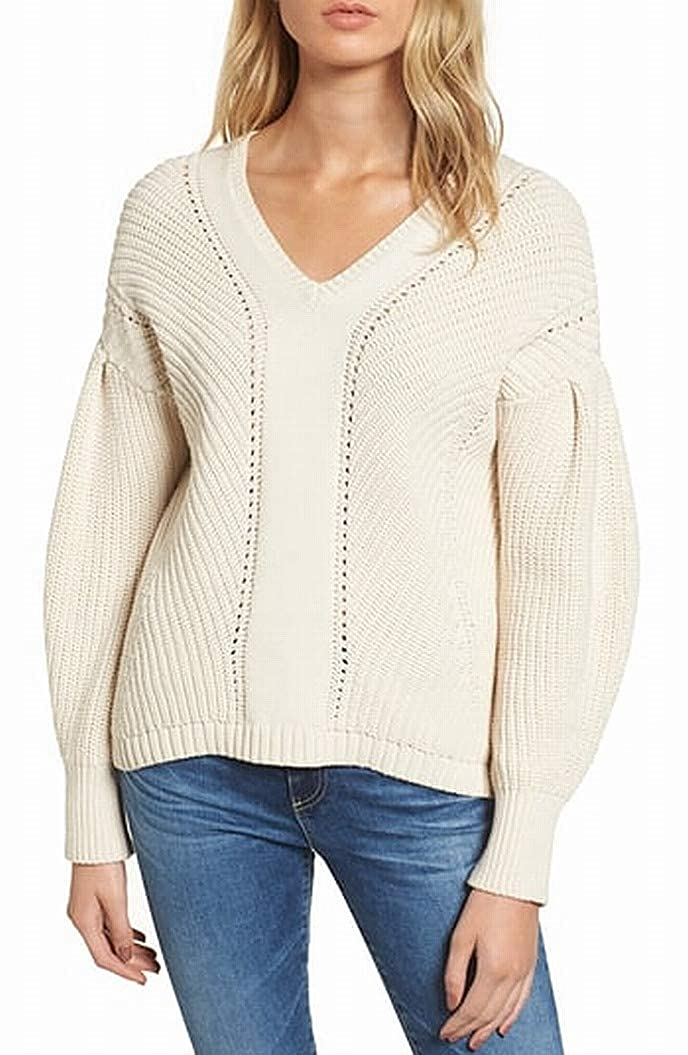 French Connection Womens Millie Mozart Solid Knits Cotton Sweaters