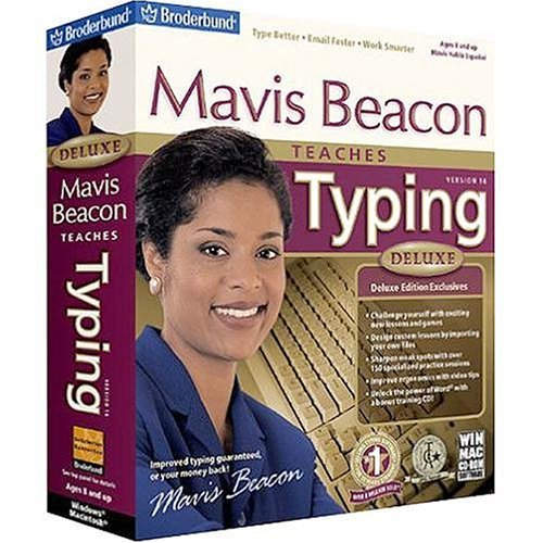 RIVERDEEP Mavis Beacon Teaches Typing 16 Deluxe - Jewel Case ( Windows )