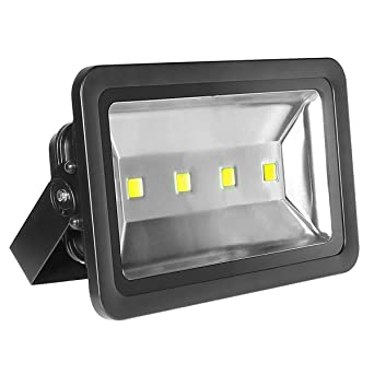 Marvelous LE Super Bright Outdoor LED Flood Lights, Daylight White, 6000K, Security  Lights,