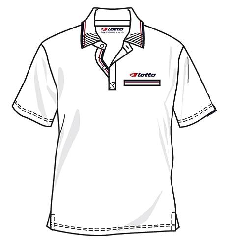 Lotto Polo Prize pl, Hombre, Color Blanco: Amazon.es: Deportes y ...