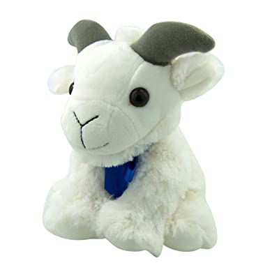 """Canned Critters Stuffed Animal: Mountain Goat 6"""": Toys & Games"""