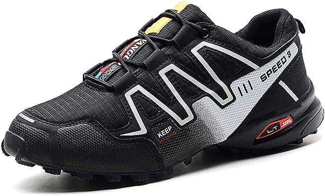 Kauson Zapatillas de Trekking para Hombres Zapatillas de ...