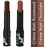 Bonjour Paris Super-Matt Lipstick -Brown Chocolate